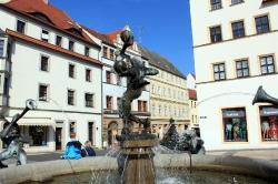 In Torgau - Marktbrunnen