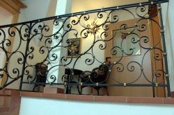 Sitzecke im Treppenhaus